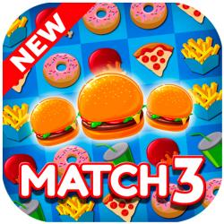 Super Burger Match 3  HD